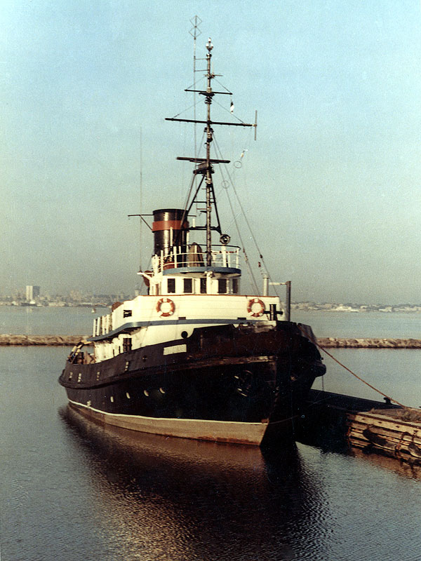 S/S Admiral in 1990's